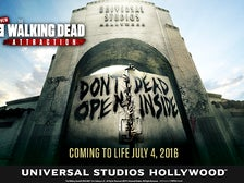 """""""The Walking Dead"""" attraction at Universal Studios Hollywood"""