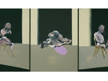 """""""Triptych—August 1972"""" by Francis Bacon at the Getty Center"""