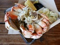 Dungeness crab at The Albright on the Santa Monica Pier